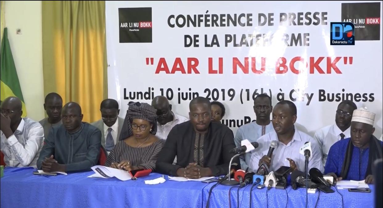 Manifestation contre la gestion nébuleuse des ressources pétrolières et gazières : Aar Linu Bokk remet ça le vendredi 21 juin au Boulevard du Général De Gaulle