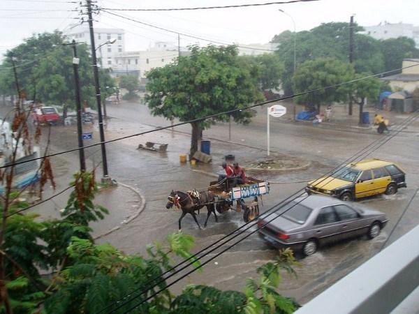Ziguinchor : Une première pluie fait beaucoup de dégâts.