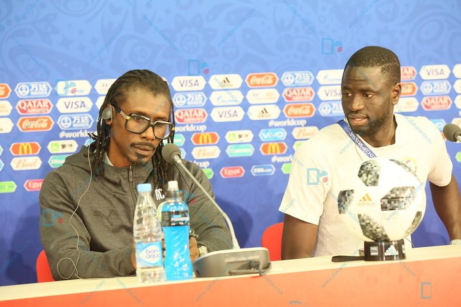 Equipe nationale : Aliou Cissé et son capitaine face à la presse, samedi (08 h GMT), à la veille de Sénégal-Tanzanie