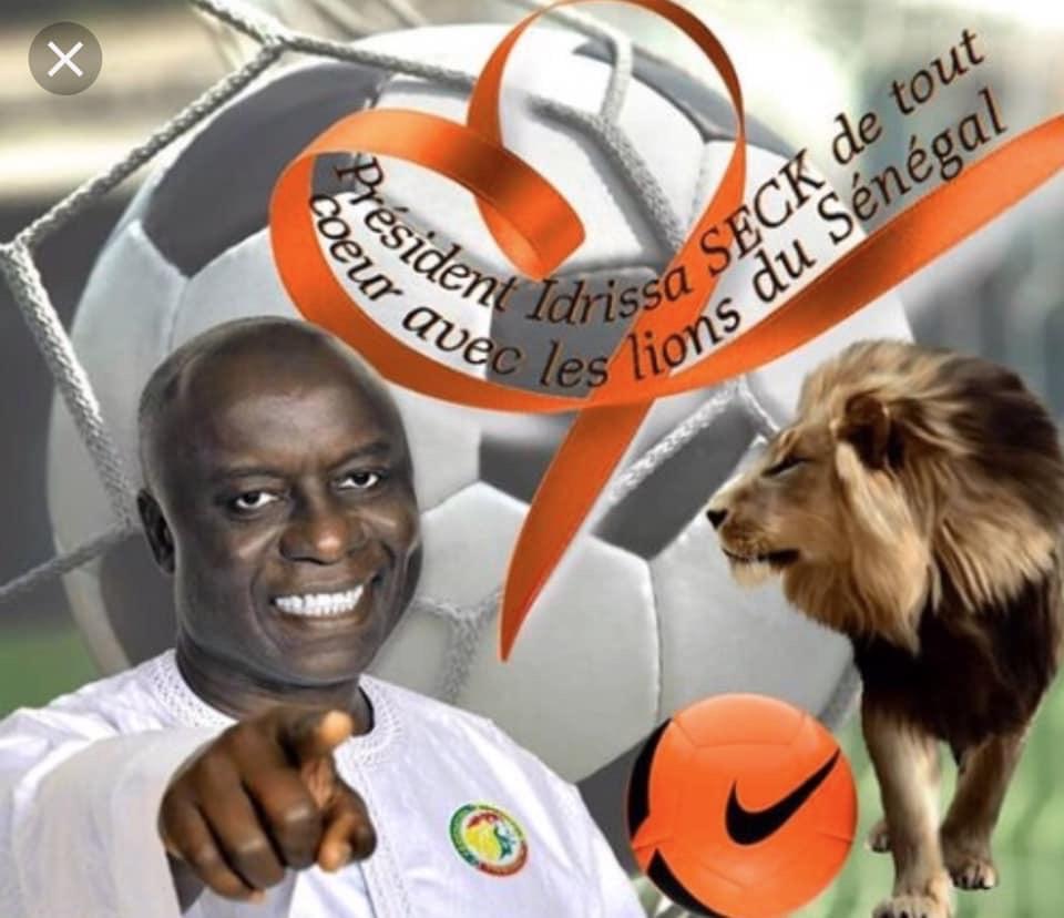 CAN 2019 : Idrissa Seck prie pour le triomphe des Lions en Égypte