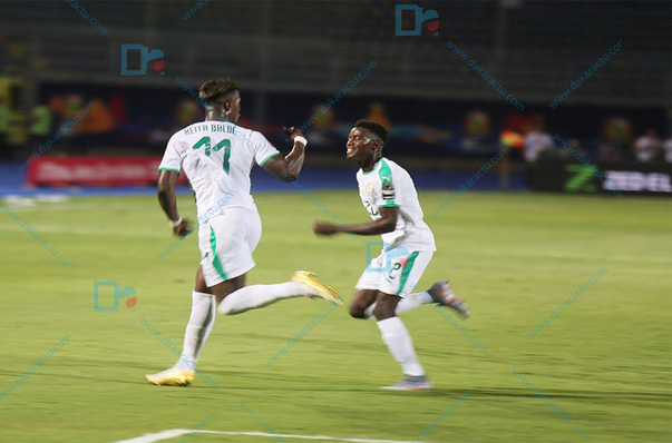 CAN 2019 : Diao Baldé Keita ouvre le score pour le Sénégal contre la Tanzanie