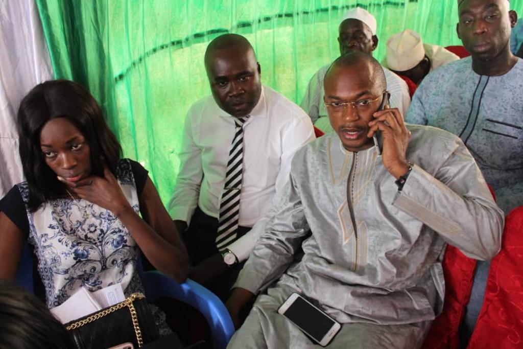 HIVERNAGE 2019 / Abdou Ndiaye lance un défi à l'opposition qui prétend que les semences ne sont pas encore distribuées dans le monde paysan.