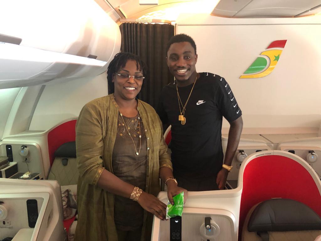 Wally Ballago Seck a voyagé avec la Première Dame à bord de Air Sénégal