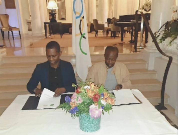 Organisation des Jeux Olympiques de la Jeunesse Dakar 2022 : Wari collabore avec le CNOSS pour appuyer le Sport sénégalais.