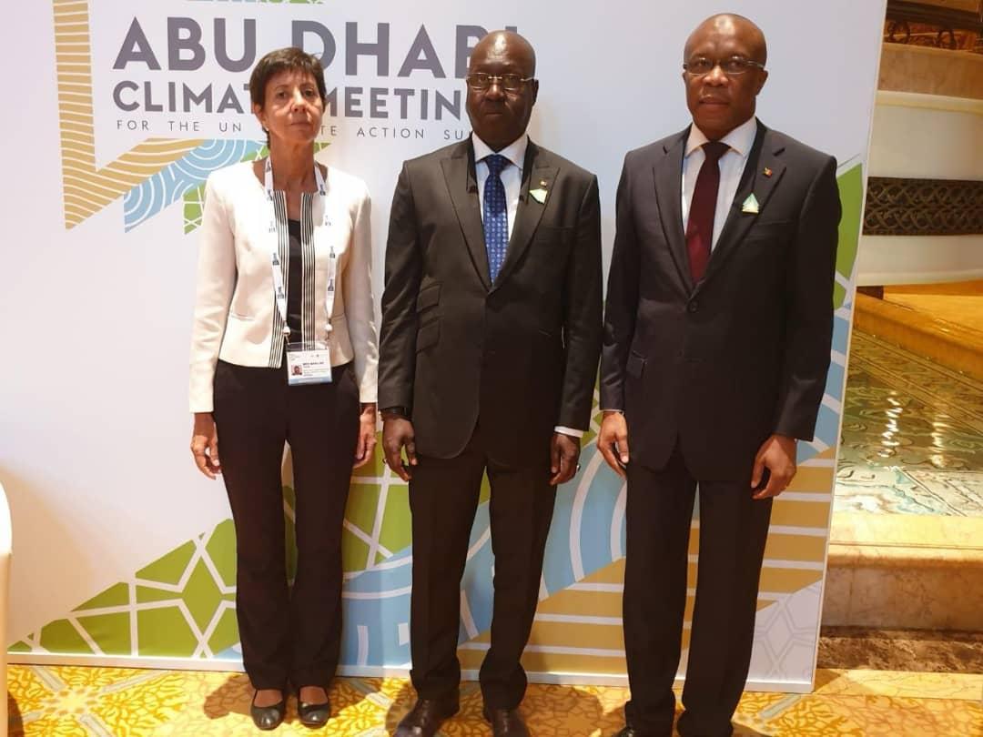 Réunion Climat à Abu Dhabi : Abdou Karim Sall met en exergue les actions menées par le Sénégal en faveur de l'atténuation