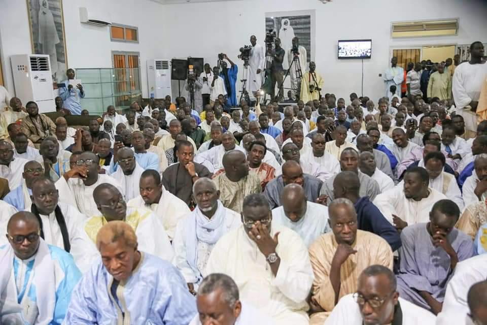 (IMAGES) Rencontre au sommet entre Serigne Mountakha, les Khalifes des concessions et le Président Macky pour l'officialisation du nouveau code de conduite en vigueur à Touba...