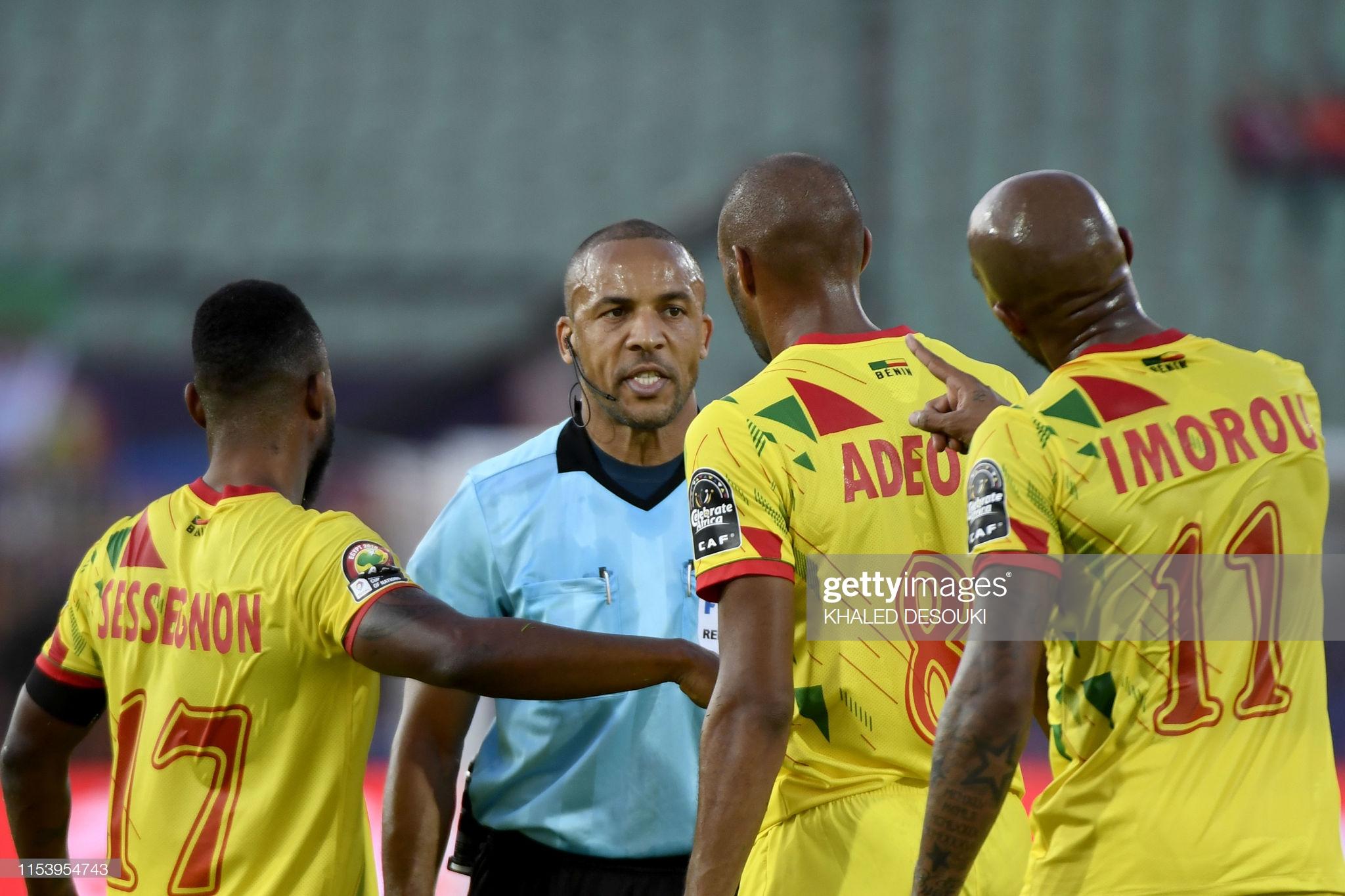 CAN 2019 : La fédération Béninoise porte plainte contre l'arbitre du match Maroc - Bénin.