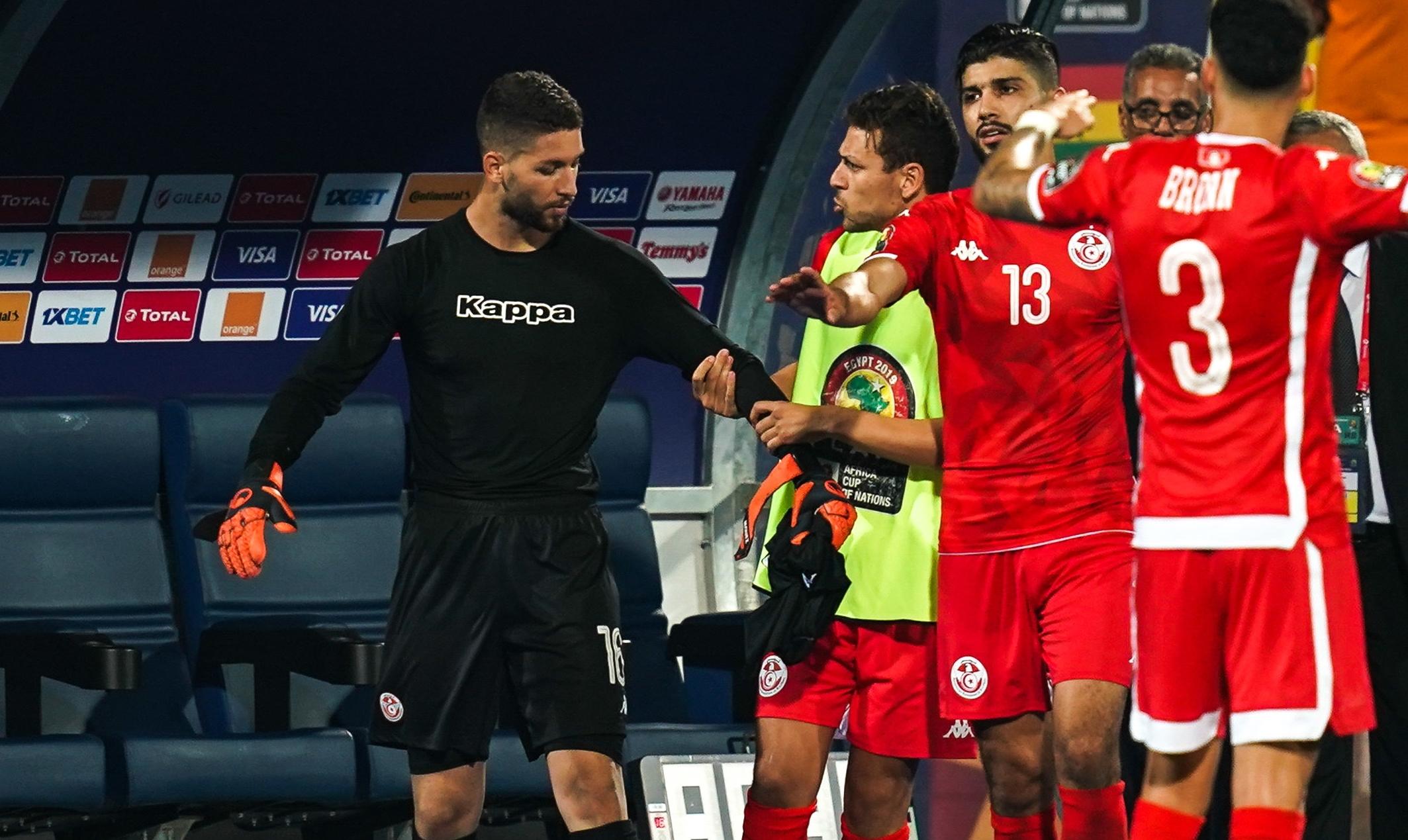 CAN 2019 : Le gardien Mouez Hassen, présente ses excuses après son comportement lors du Tunisie - Ghana