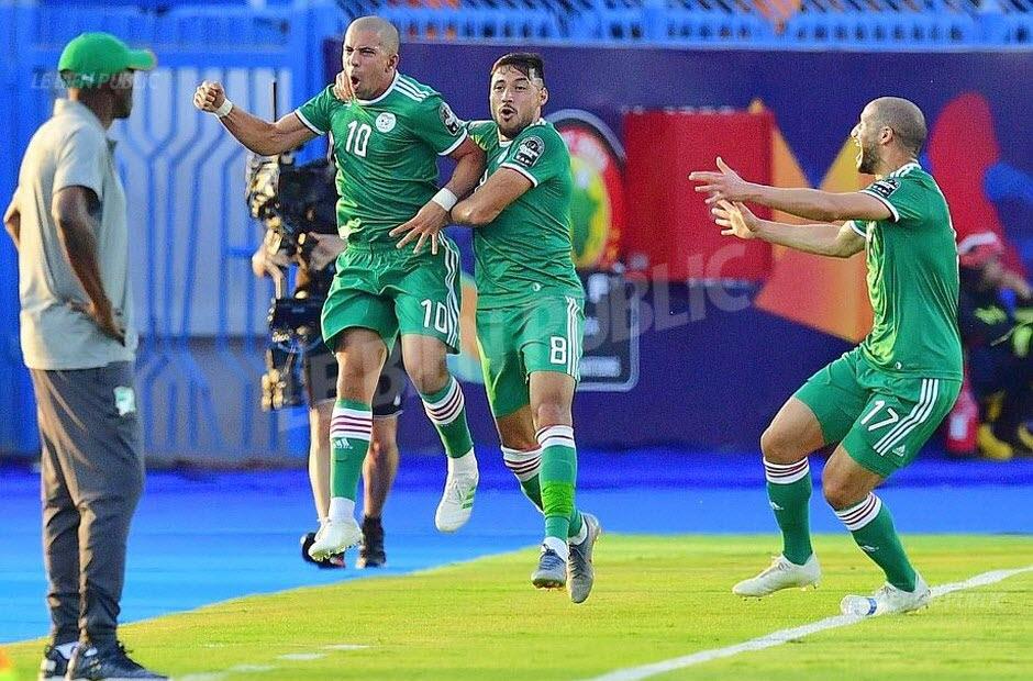 CAN-2019 : Au bout du suspense, l'Algérie bat la Côte d'Ivoire et rejoint le Nigeria en demi-finale