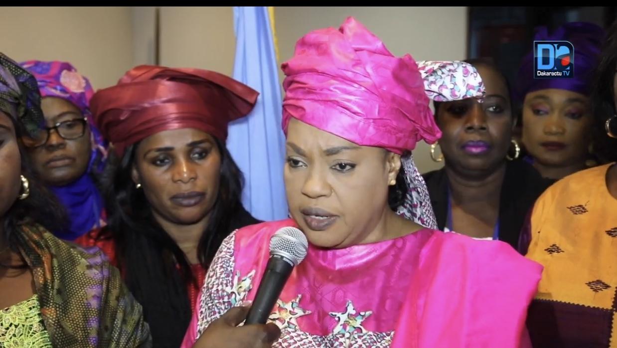 RÉSOLUTION : Les femmes de l'APR pour le soutien des candidatures féminines à la prochaine élection locale au Sénégal.