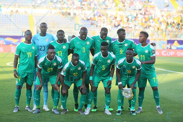 Composition du Sénégal : Krépin titulaire sur le flanc droit de l'attaque, presque le même onze qu'au quart pour la demi-finale contre la Tunisie