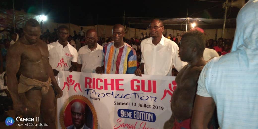 Bargny- Drapeau Alyoune Badara Diop : Cheikh Niang de Dakar s'impose devant Bruno de Gouy gui