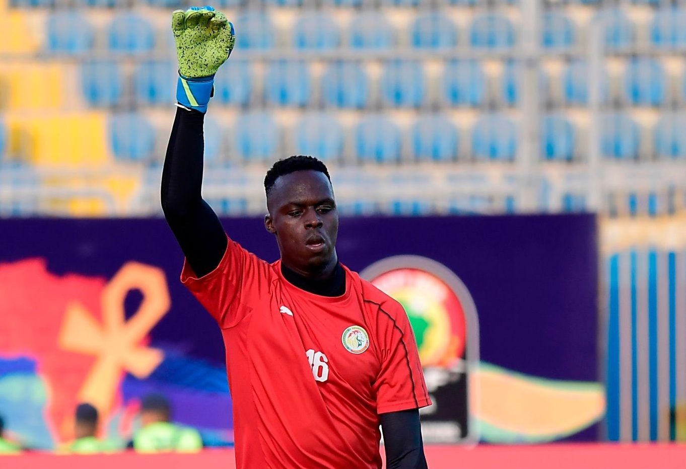Le gardien Edouard Mendy blessé, mais dans le groupe du Sénégal pour la finale de la Coupe d'Afrique.