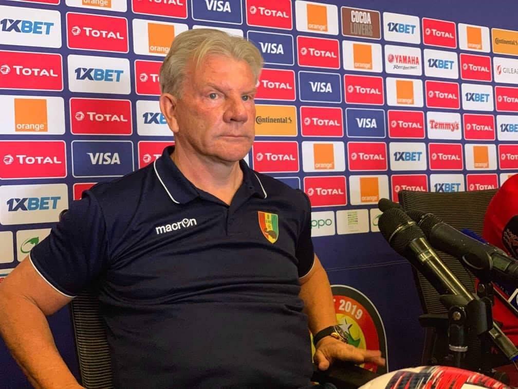Paul Put, le sélectionneur de la Guinée licencié pour résultats insuffisants et rackets sur les joueurs