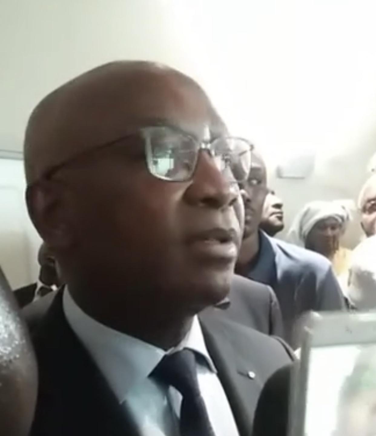 Serigne Mbaye Thiam à Paris : « Nous remercions le président Macky Sall pour toutes les dispositions qu'il a prises depuis la maladie de Ousmane jusqu'à ce jour... »