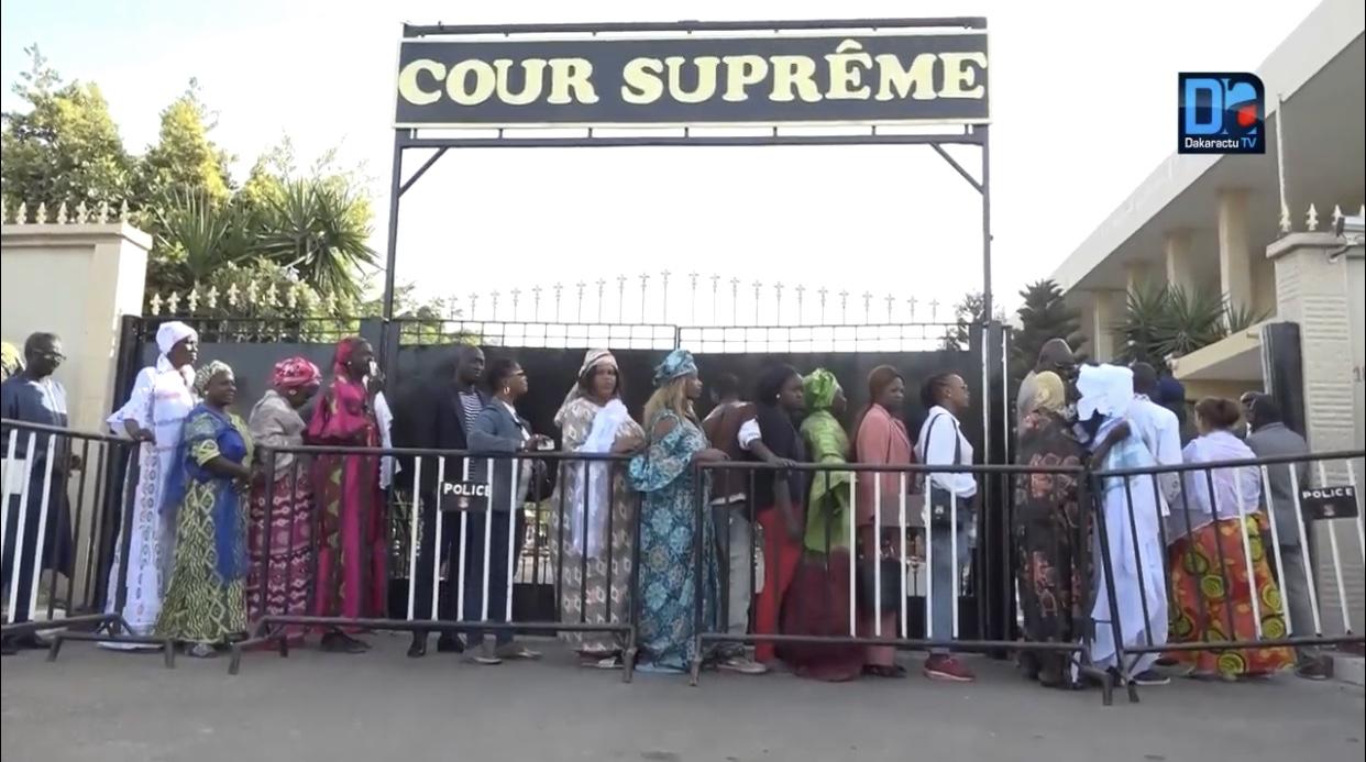Cour suprême : Les juges planchent sur le rabat d'arrêt de Khalifa Sall et Cie
