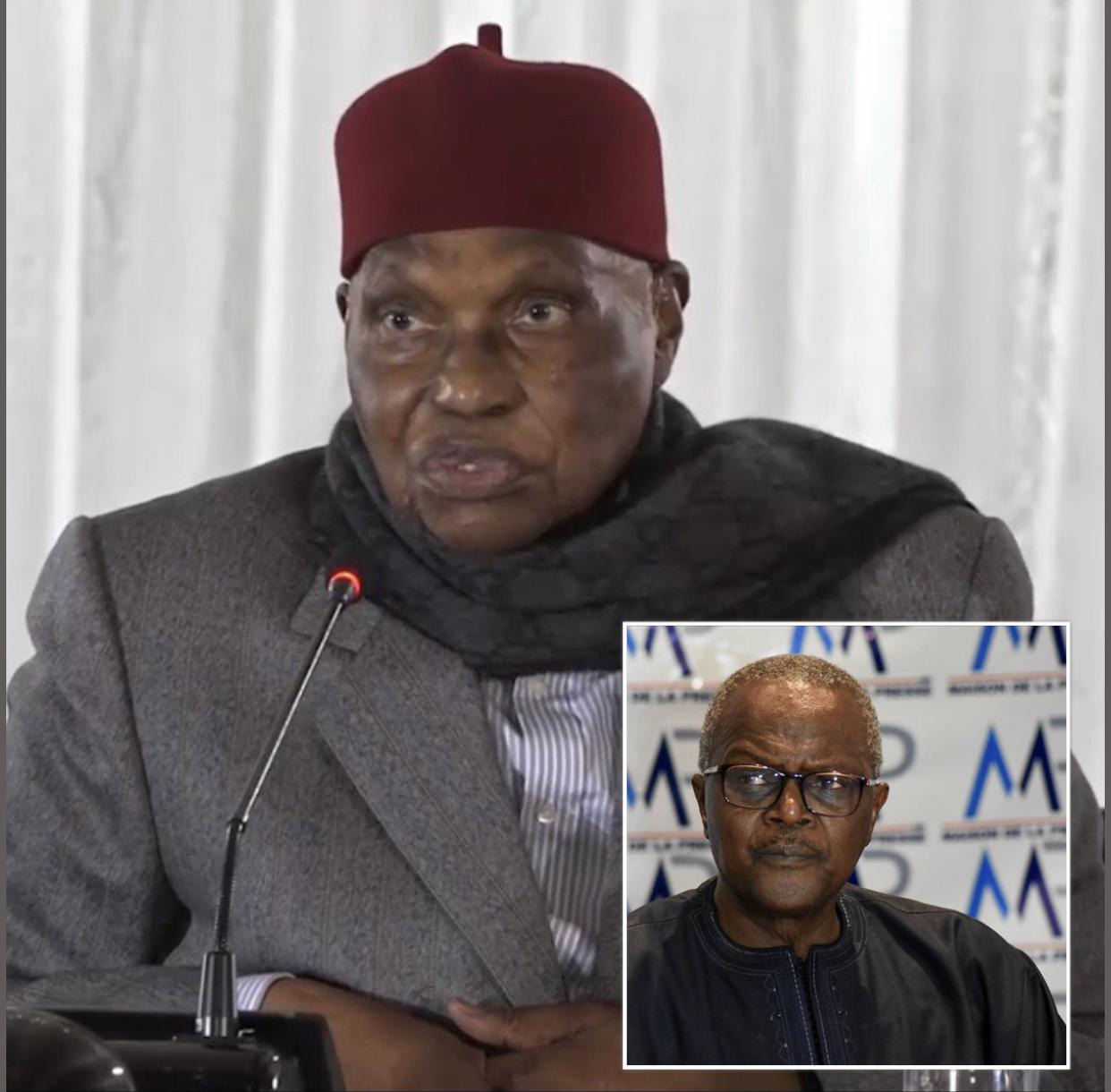 Décès de Ousmane Tanor Dieng : Abdoulaye Wade salue la mémoire «d'un homme politique partisan, engagé mais correct»