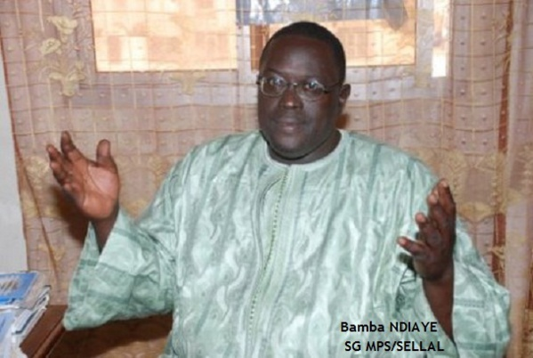 REPORT DES LOCALES : L'ancien député Bamba Ndiaye s'offusque d'un double jeu du CRD