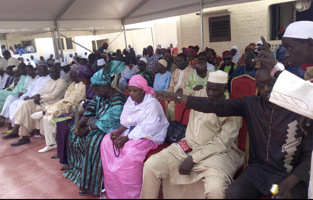 NGUÉNIÈNE : Malentendus entre le protocole du président et les populations.
