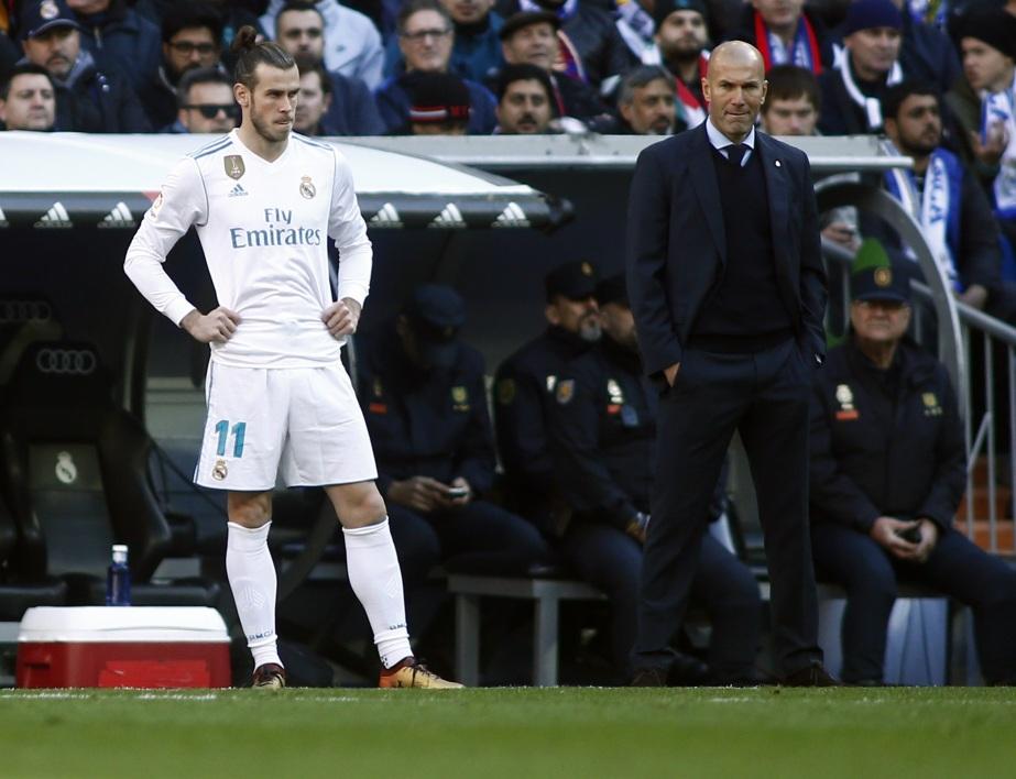 Zidane annonce le départ de Gareth Bale du Réal Madrid