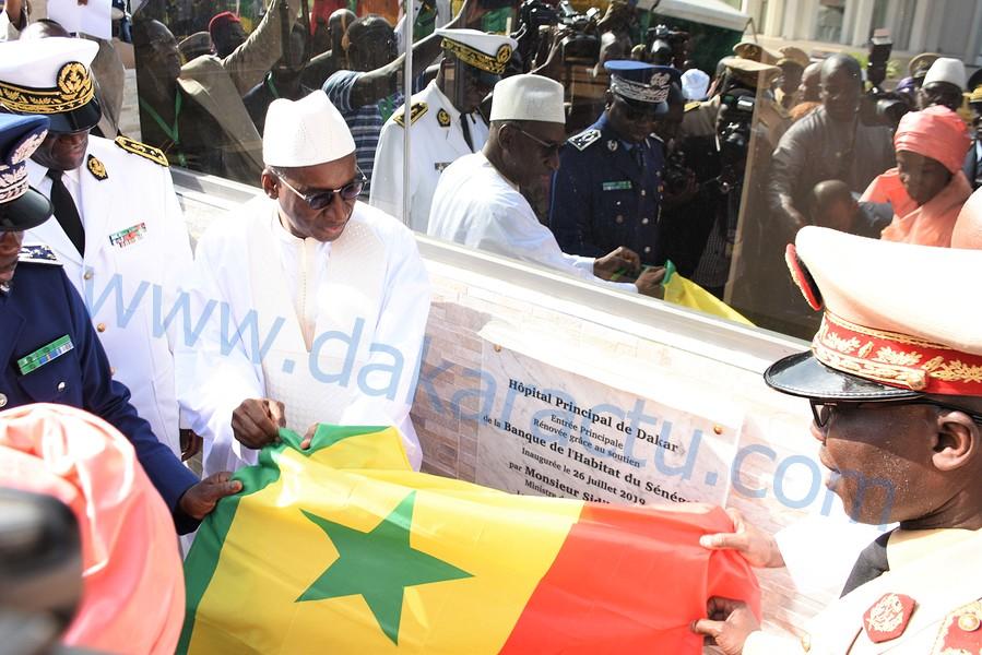 Les images de la cérémonie d'inauguration d'infrastructures et d'équipements à l'hôpital principal de Dakar