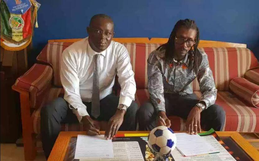 Equipe nationale : Le nouveau contrat en or d'Aliou Cissé, 15 millions mensuels jusqu'en 2022