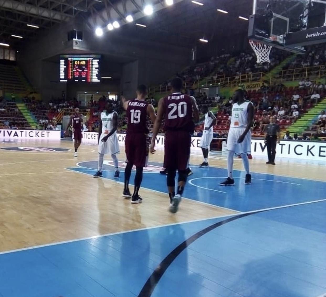 Verona Cup / Préparation Mondial de Basket : Le Sénégal bat le Venezuela 75 à 69