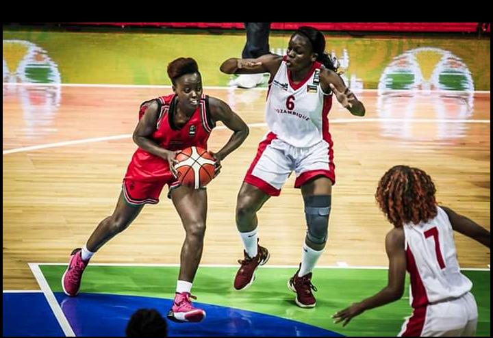Afrobasket féminin : Les Mozambicaines s'imposent face au Kenya 55 - 39