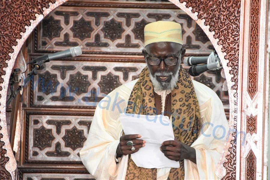 Sermon explosif de l'imam El Hadj Malick Diagne de la Grande Mosquée de Dakar : « Chacun considère sa Tariqa comme étant la meilleure… Cheikh Sidy Mokhtar a beaucoup combattu cette division entre musulmans »