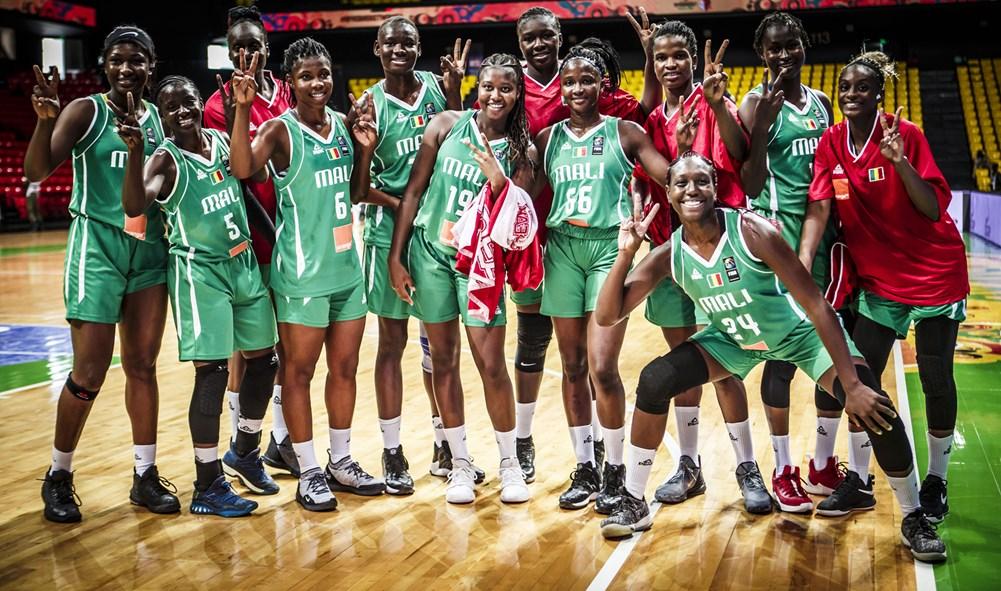 Afrobasket féminin 2019 : Les Maliennes déroulent contre la modeste équipe de la RDC (82-56), et décrochent leur ticket en 1/4.
