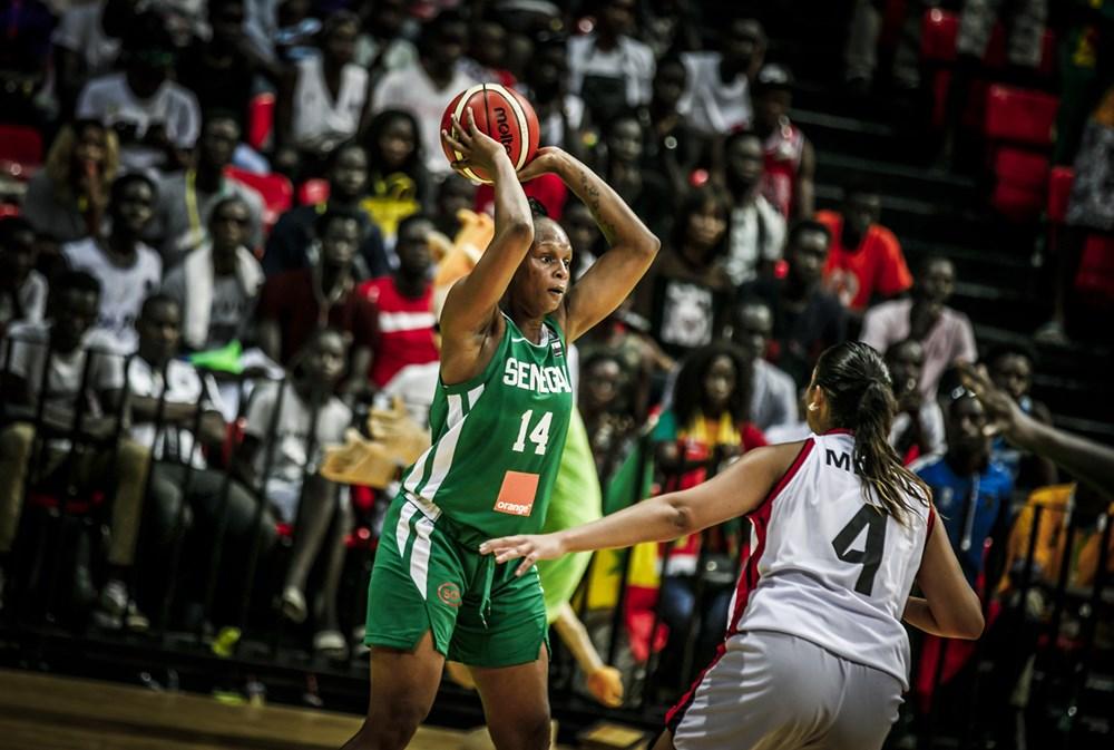 """Afrobasket féminin / Sénégal - Égypte : Les """"Lionnes"""" mènent par 16 points d'écart (41-25) à la mi-temps"""
