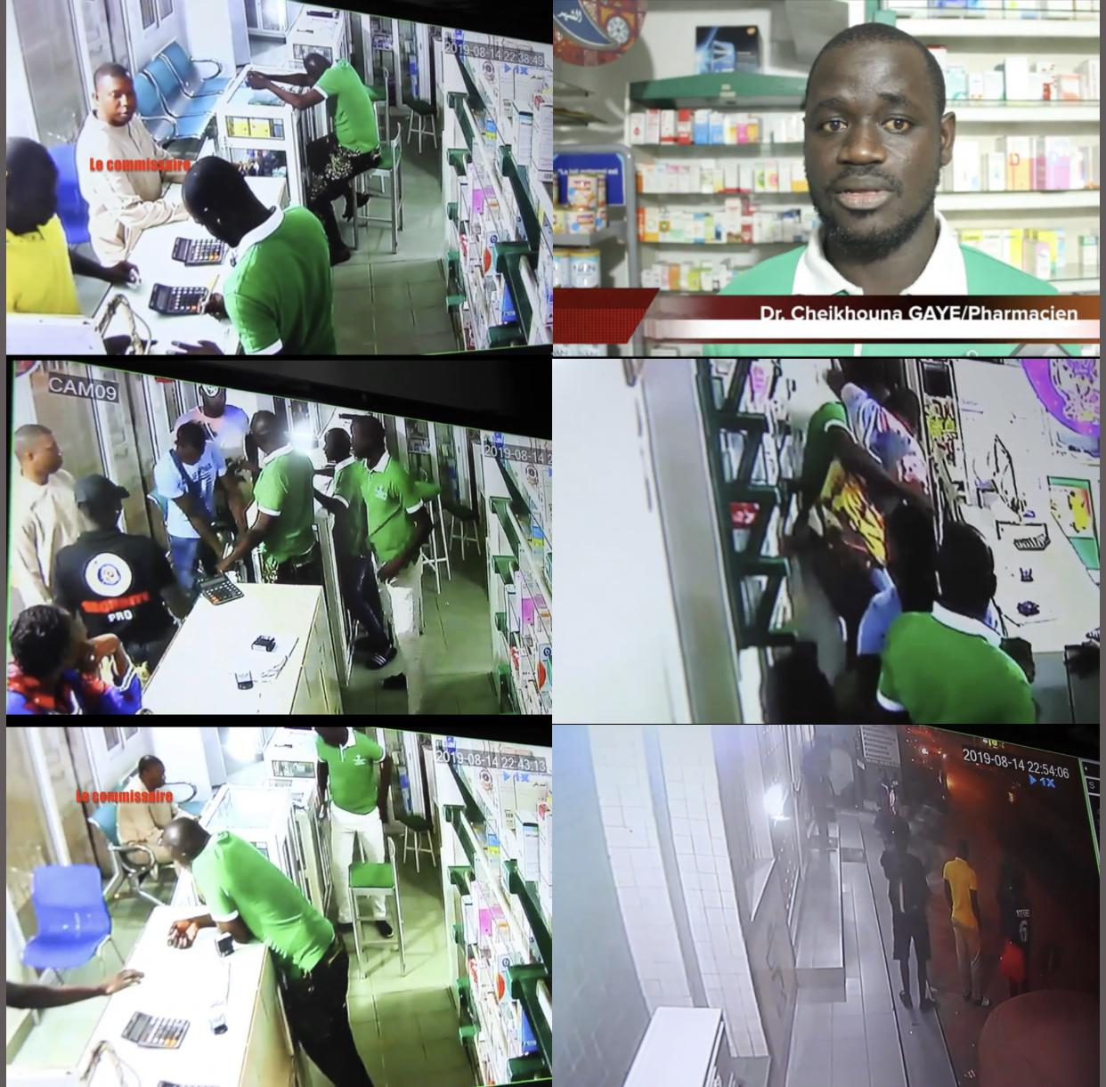 Violences sur le pharmacien Dr Cheikhouna Gaye : Bara Sankharé alias « Cobra » relevé de ses fonctions, la police des polices ouvre une enquête.