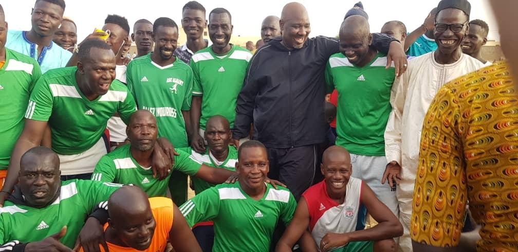 Football / Agnams : Farba Ngom marque un but et fait gagner les mariés contre les célibataires.