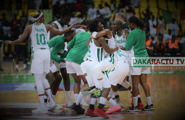 Afrobasket féminin 2019 - 1/4 finale : Les images du match Sénégal vs Angola