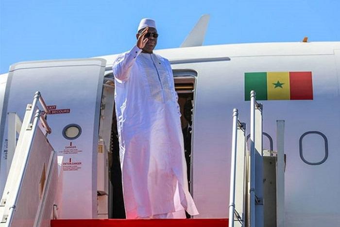 Vacances : Macky Sall s'envole pour Paris.