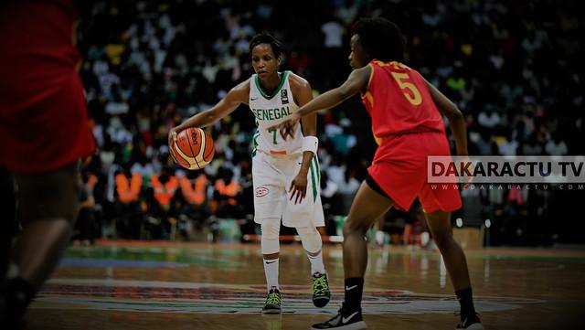 ½ finale Afrobasket féminin : Revivez les images du match Sénégal – Mozambique