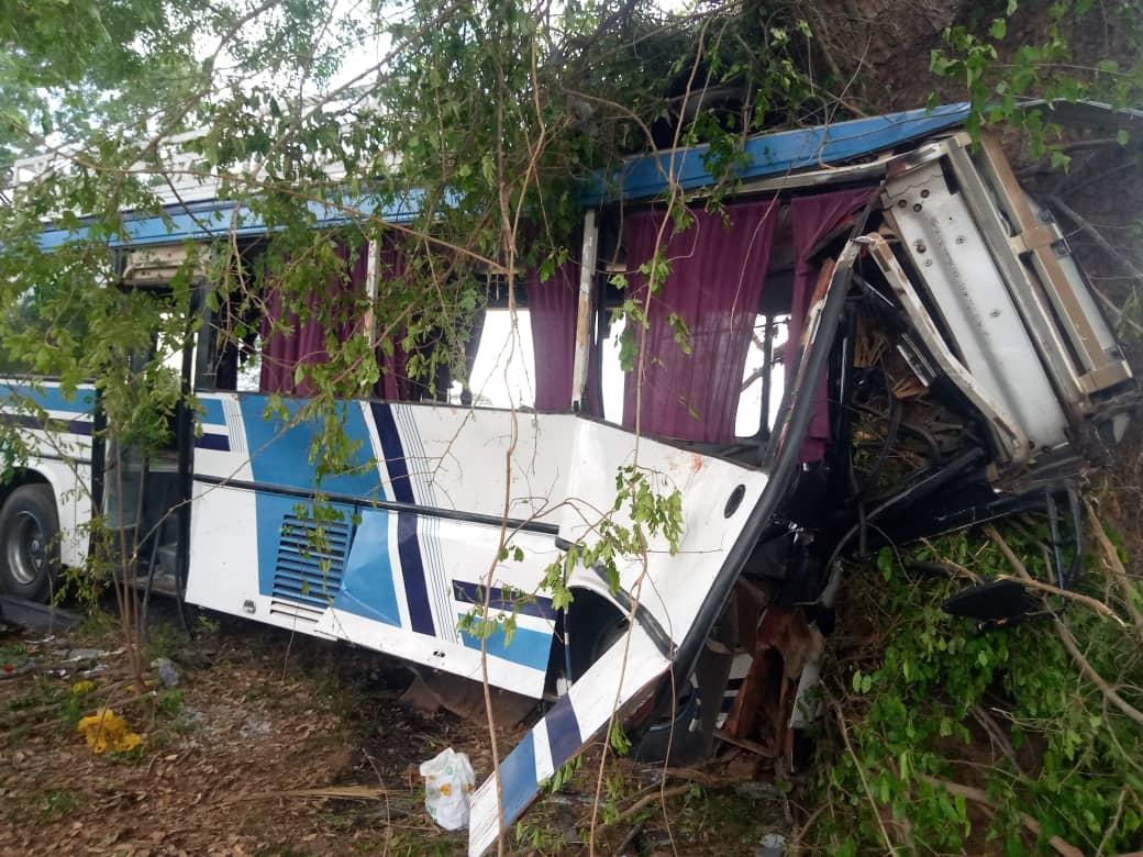 Badiouré : Un bus se reverse et fait trois morts.