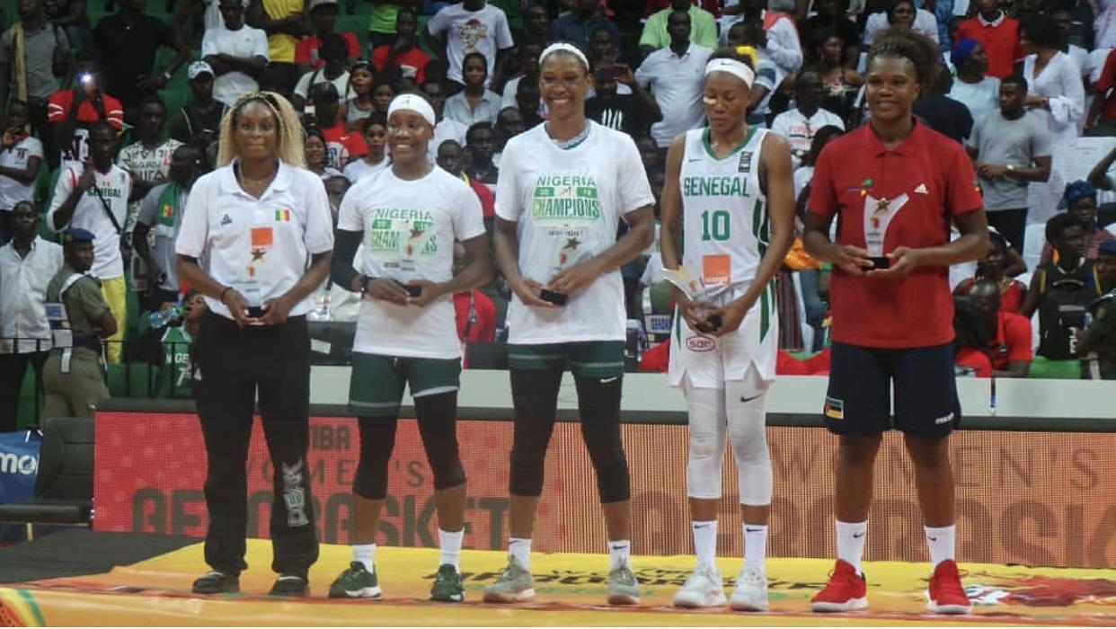 Afrobasket féminin 2019 : Astou Traoré dans le 5 majeur du tournoi