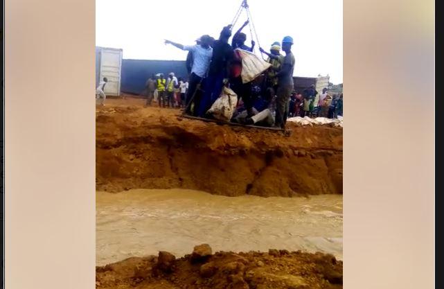 Affaissement du pont de Sinthiou Garba : Thierno Alassane Sall médusé