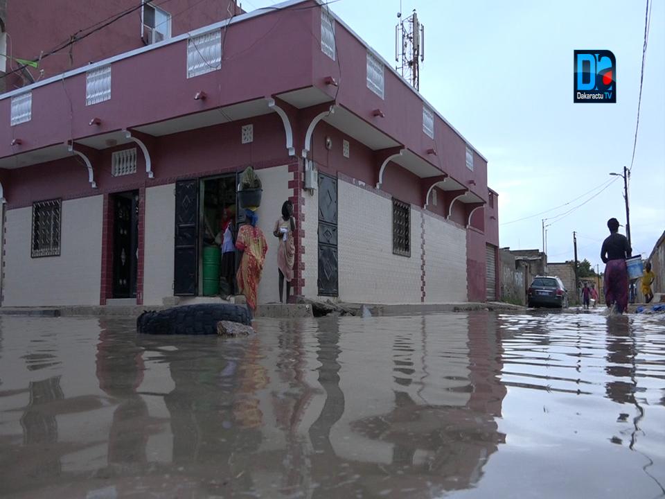 Précipitation à Saint-Louis : Plusieurs quartiers de la ville sous les eaux (images)