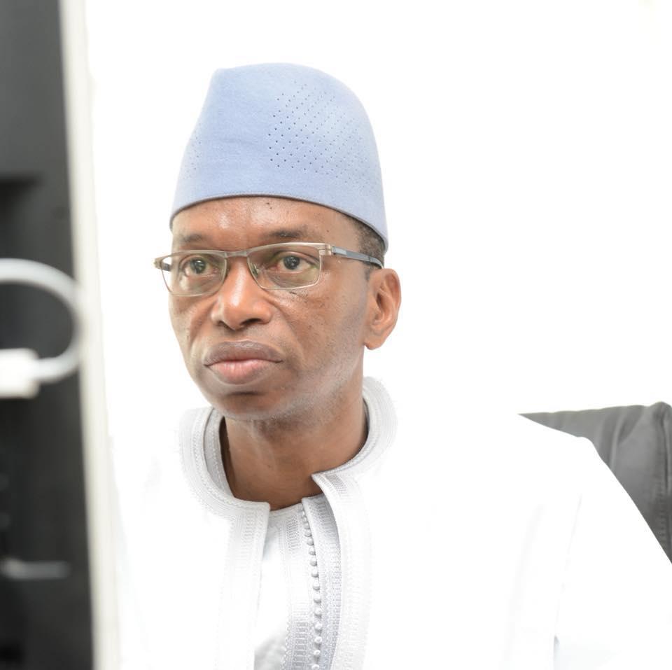 Levée du corps de Jacques Diouf : Oraison funèbre lu par le ministre de l'Agriculture Moussa Baldé.