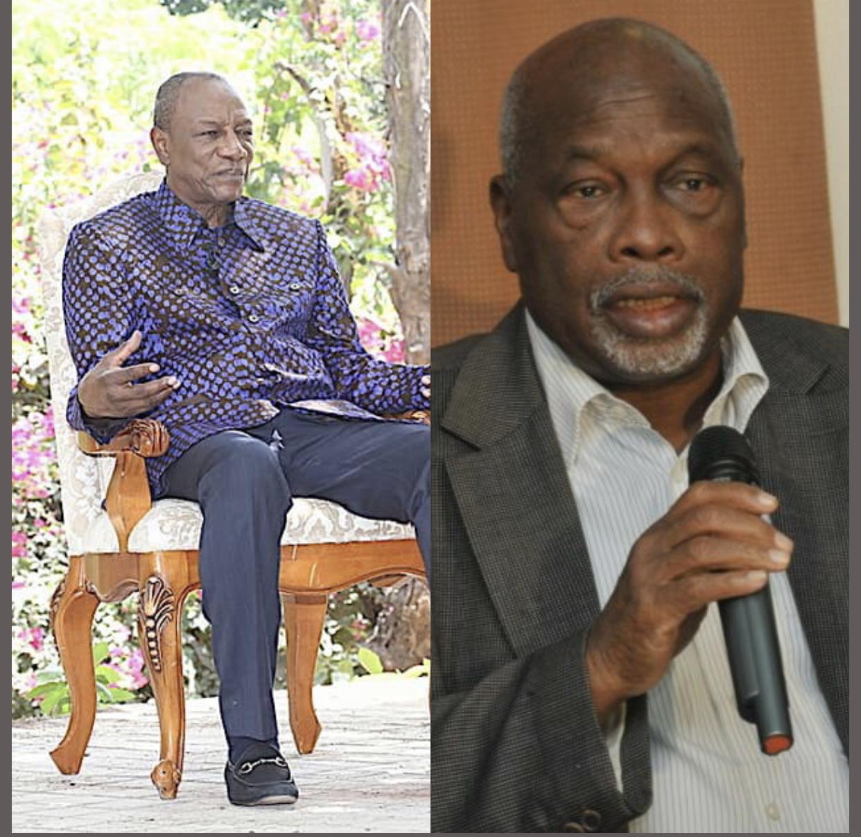 Alpha Condé sur Amath Dansokho : «C'était comme mon frère. Même si je devais passer juste une heure au Sénégal, il fallait toujours que je passe le voir...»