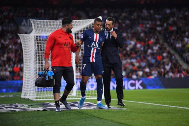 Ligue 1 : Kylian Mbappé et Cavani absents 3 à 4 semaines selon le staff médical du PSG