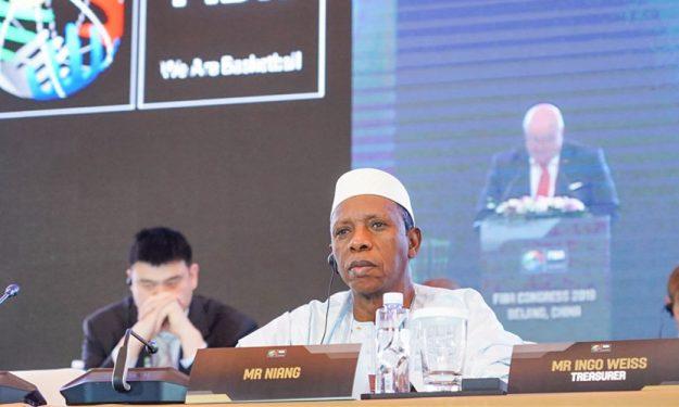 Basketball : Le malien Hamane Niang est le nouveau président de FIBA Monde