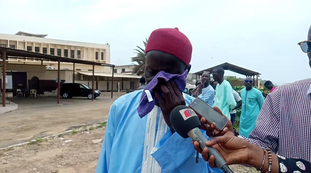 Mort de 2 détenus de Rebeuss : Les chaudes larmes de Moussa Ndiaye, le père d'une des victimes à la morgue