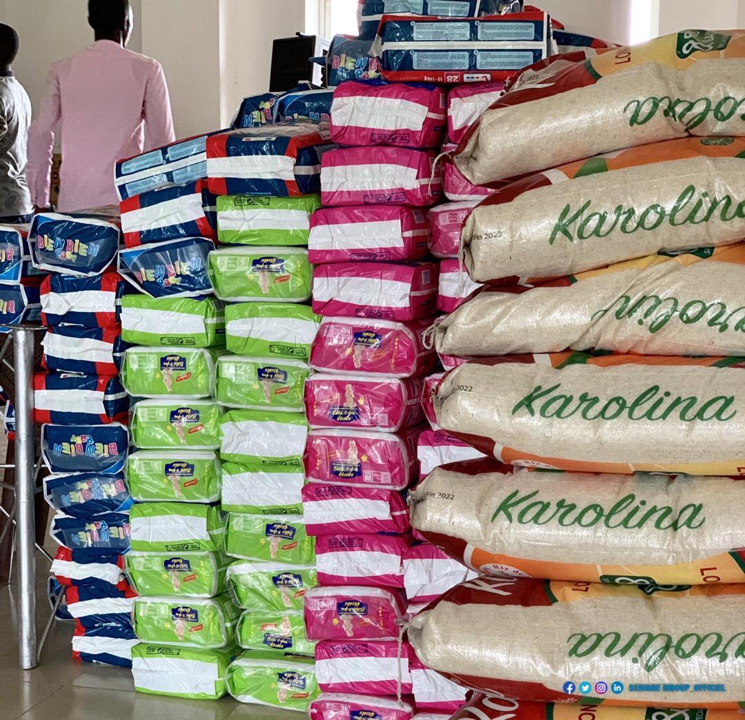 Inondations à Kaolack : Le président Serigne Mboup met à la disposition des sinistrés des motopompes, des kits de détergents, des tonnes de riz...