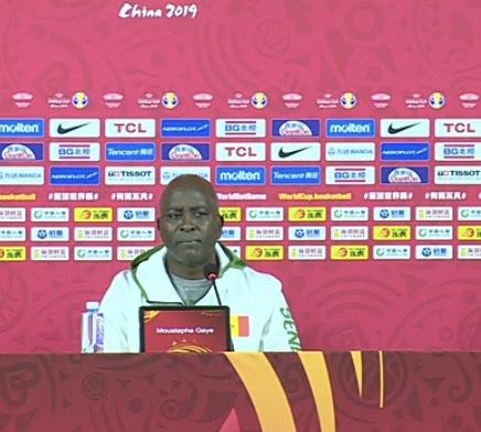 Mondial Basket / Moustapha Gaye, coach des « Lions » : « Nous sommes prêts pour le match de demain...»