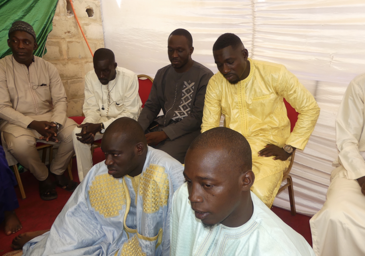 Thiès :  Revivez en photos le baptême du fils du communicateur traditionnel Mamadou Diop dit Modou Ndiaye