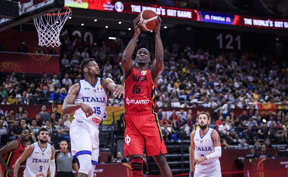 Mondial Basket / Groupe D : Deuxième revers pour l'Angola battue 61-92 par l'Italie