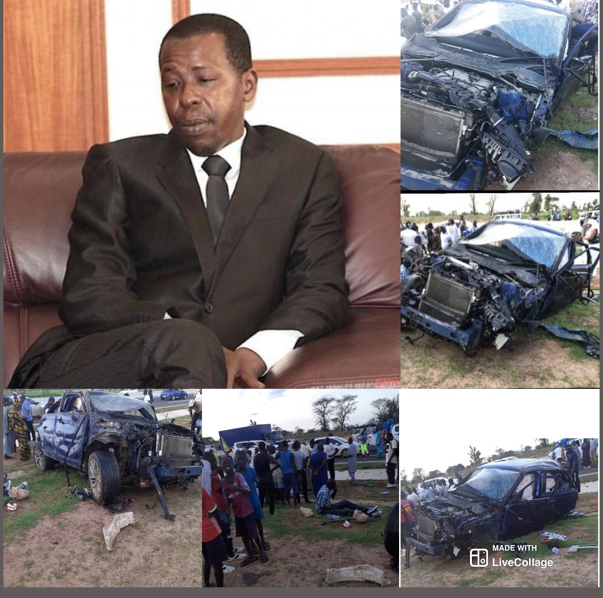 FAWZEÏNI À TOUBA / Cheikh Amar s'est réveillé avec une fracture... L'un des pneus était mal monté... Le rôle primordial de Cheikh Bass... L'homme d'affaires évacué vers Dakar aux environs de 21h43 minutes